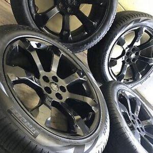 "21"" Ford Explorer ST Black wheels rims tires Factory OEM 2019 2020 set 4 for Sale in Pompano Beach, FL"