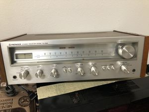 Vintage Pioneer stereo Receiver sx550 for Sale in Del Sur, CA