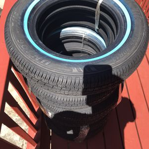Travelstar 155/80 R13 White Wall Tires for Sale in Seattle, WA