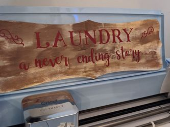 Handmade Laundry Room Sign Home Decor for Sale in Doylestown,  OH