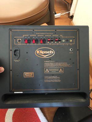 Klipsch 5.1 pc surround sound system for Sale in San Francisco, CA