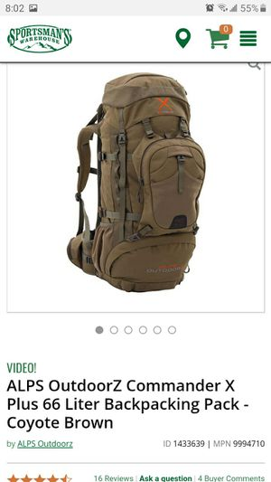 Alps OutdoorZ Comander X Backpack Pack for Sale in Queen Creek, AZ