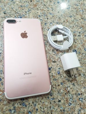 UNLOCKED IPHONE 7 PLUS 128GB ROSE GOLD, PERFECT CONDITIONS !!! PRICE IS FIRM !!! for Sale in Oakland Park, FL