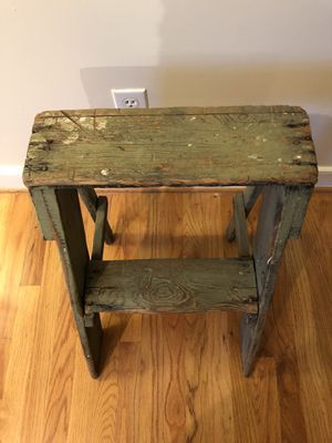 Antique Step Stool/Plant Stand for Sale in Charlottesville, VA
