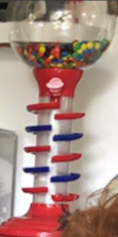 Bubble gum machine 22 inch tall light 💡 up and play music for Sale in Clearwater, FL