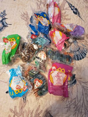 McDonalds beanie babies lot of 12 for Sale in Taylor, MI