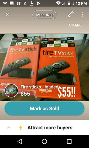 Jail broken fire sticks for Sale in Woodlawn, MD