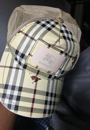 Burberry hat for Sale in San Bernardino, CA
