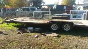 28 ft Toy Hauler Trailer for your quads for Sale in Hillsboro, OR