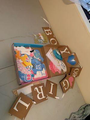 Gender reveal decoration for Sale in Chatsworth, CA