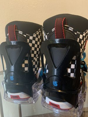 Kids size 3 vans boots, burton bindings for Sale in Wenatchee, WA