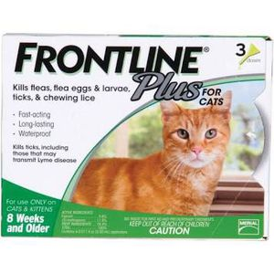 6 boxes of Frontline Plus For Cats - 3 Doses Per Box for Sale in Howell Township, NJ
