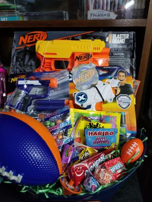 Nerf easter or gift basket for Sale in Cedar Hill, TX