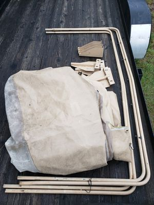 M1101 / M1102 Tarp and Bows with Brackets for Sale in Black Diamond, WA