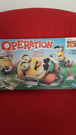 Hasbro Gaming Despicable Me 3 Edition Operation Game for Sale in Woodland, CA