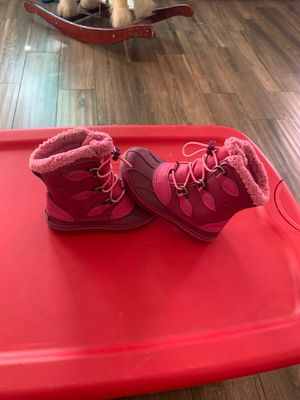 Crocs boots pink Toddler girls size (c9) for Sale in Bloomington, CA