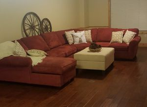 Red Sectional Couch For Sale for Sale in Midvale, UT