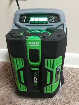 EGO POWER+ 56V Battery and Rapid Charger for Sale in Sterling, VA