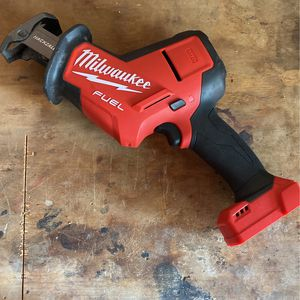 Milwaukee M18 Hackzall Used For 4 Branches for Sale in Fresno, CA