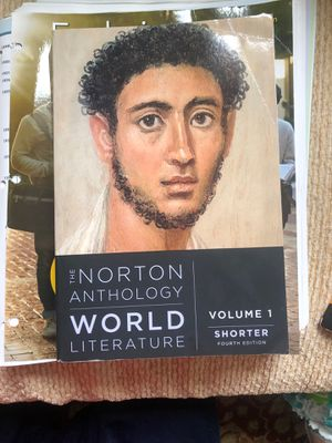 The Norton Anthology Of World Literature for Sale in Smyrna, TN