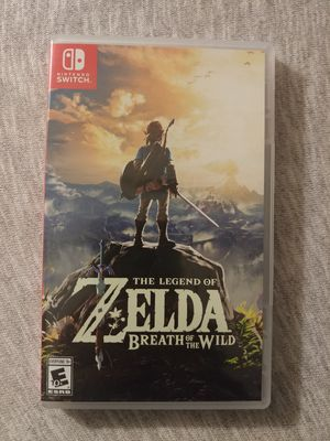 The Legend of Zelda Breathe of The Wild for Sale in Anaheim, CA