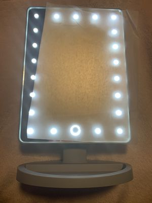 Vanity mirror with LED lights for Sale in Kissimmee, FL