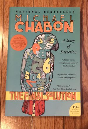 Michael Chandon, The Final Solution, Paperback for Sale in Haddonfield, NJ