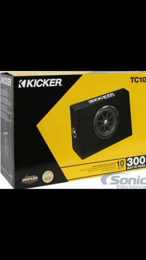 Kicker 10in comp speaker in box for Sale in Avon Park, FL
