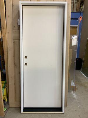 "32"" x 80"" Right Hand In-swing Framed Therma-Tru Door ideal for Garage for Sale in Phoenix, AZ"
