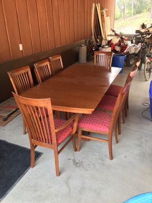 Table & 8 chairs for Sale in Cle Elum, WA