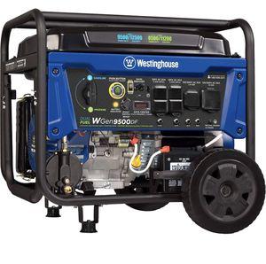 Westinghouse WGEN9500DF 9500 Watt Dual Fuel Portable Generator for Sale in San Diego, CA