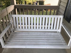 White porch swing for Sale in Hilliard, OH
