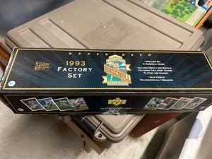 1993 Factory Set Upper Deck Baseball Card's for Sale in Bayonne, NJ