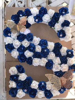 Floral Lettering Decor for Sale in Los Angeles, CA
