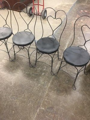 Antique ice cream chairs for Sale in St. Louis, MO