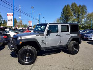 2014 Jeep Wrangler Unlimited for Sale in Everett, WA
