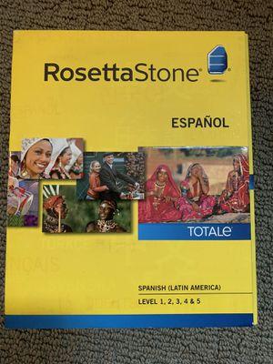 Rosetta Stone Totale Spanish (Latin America) for Sale in Seattle, WA