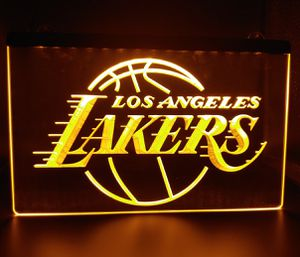 "🏀NEW 3D LA LAKERS, CLIPPERS (+ MORE) 8×12"" LED SIGN🏀MAN CAVE. BAR. NIGHT LIGHT🏀 for Sale in Ontario, CA"