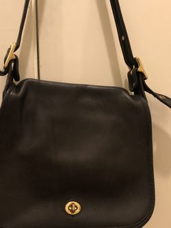 Vintage coach Medium bag black for Sale in Seattle,  WA