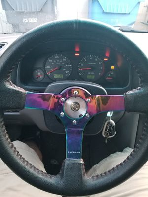NRG steering wheel for Sale in Tacoma, WA