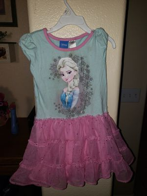 Girls Elsa dress for Sale in Perris, CA