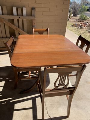 Kitchen table w/4chairs for Sale in Phoenix, AZ