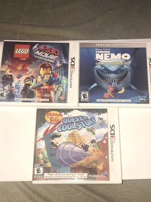 Nintendo 3DS games for Sale in Fresno, CA