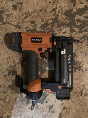 Ridgid nail gun for Sale in Austell, GA
