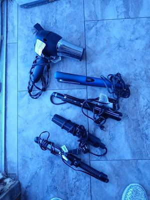 3 hair straightener 1 curling iron in one blow dryer for Sale in Odessa, TX