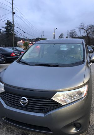 2014 Nissan quest minivan eight passenger with the entertainment in great shape one owner for Sale in Lawrenceville, GA
