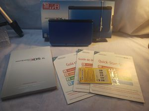 Nintendo 3DS XL With 5,000+ Games original box with manuals and play cards for Sale in Sunnyvale, CA