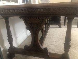Antique table/ desk with drawer for Sale in Vienna, VA