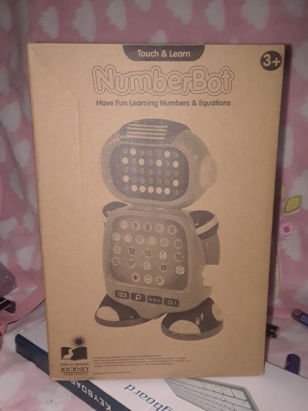 The learning journey numberbot