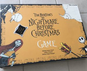 LIMITED EDITION The Nightmare Before Christmas Board Game by NECA 2004 BRAND NEW IN THE BOX for Sale in Fontana, CA